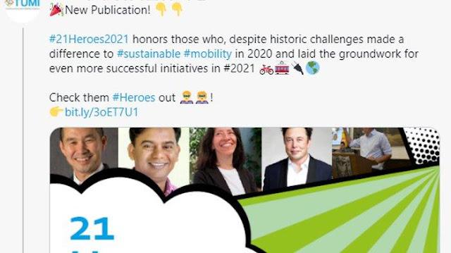 Penghargaan 2021 Heroes Sejajarkan Namanya dengan Elon Musk , Begini Kata Anies Baswedan