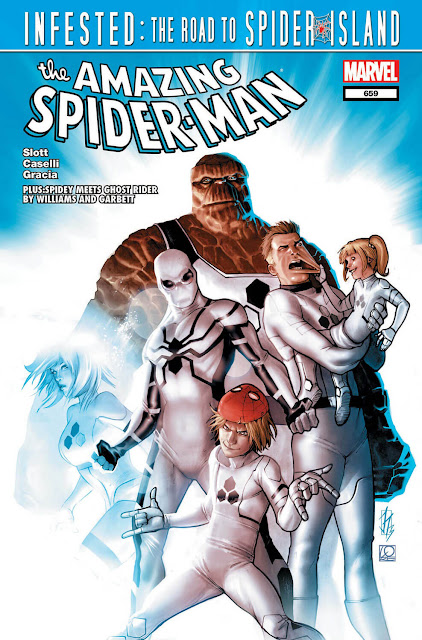 amazing spider man fantastic four
