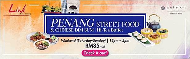 Pullman Bangsar The Link - Weekend Hi-Tea Buffet Promotion