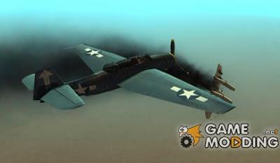 TBF Avenger ialah MOD Gta San Andreas yang merepleace pesawat tempur amerika TBF Avenger