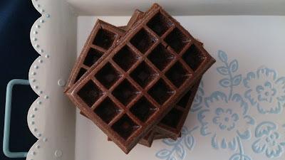 gofres waffles horno chocolate calabacín saludables fit healthy receta cuca moldes lidl desayuno merienda postre