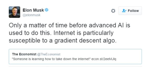 Trí tuệ nhân tạo tiên tiến có khả năng đánh sập Internet