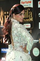 Poonam Kaur in Beautiful Floor Length Gown at IIFA Utsavam Awards 2017  Day 2  Exclusive 02.JPG