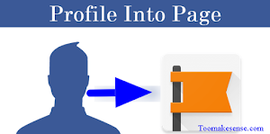 How to convert Facebook profile to page