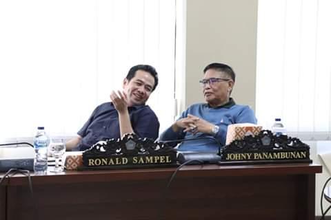 Johny Panambunan, Pertanyakan Rolling Kepsek ke BKD Sulut