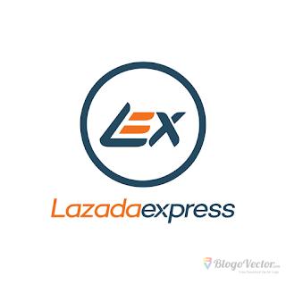 Lazada express Logo vector (.cdr)