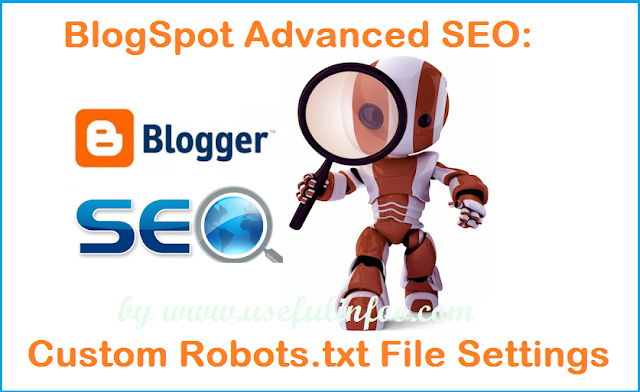 blogger advanced SEO