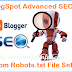 BlogSpot Advanced SEO: Custom Robots.txt File Settings