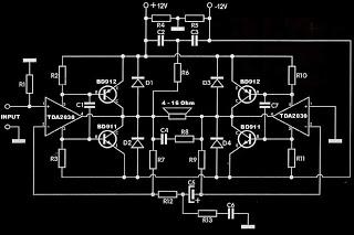 Rangkaian subwofer TDA2030 - Arjun Service