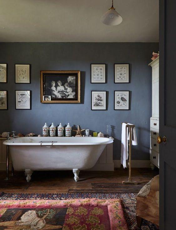 home garden 76 inspirations pour d corer une salle de bains avec baignoire. Black Bedroom Furniture Sets. Home Design Ideas