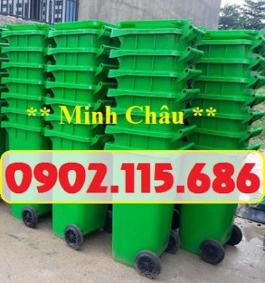 Thùng rác nhựa 120l,thùng rác nhựa 240l,thùng rác 120l có bánh xe,thùng rác 240l có bánh xe, 1