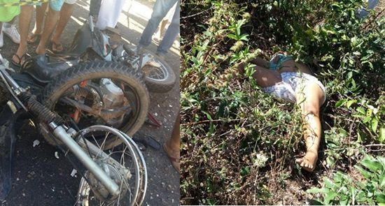 Grave acidente deixa mortos na estrada que liga a cidade de Acaraú a praia de arpoeiras