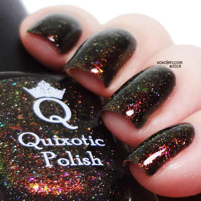 xoxoJen's swatch of Quixotic polish Rock Legend