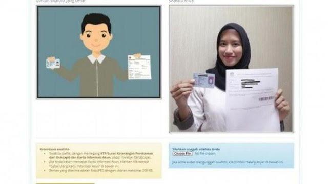 Bagaimana cara unggah dokumen persyaratan Sobat Loker Rembang ?