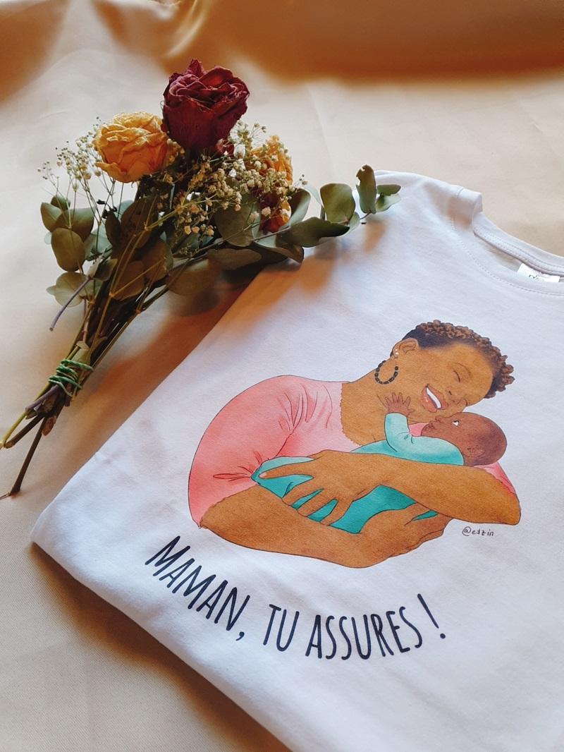 blog afro lookbook tshirt Orema Podcast Maman