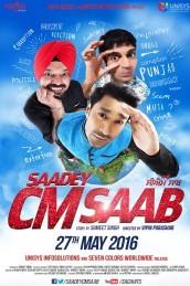 Saadey CM Saab (2016) Punjabi DVDScr 700MB