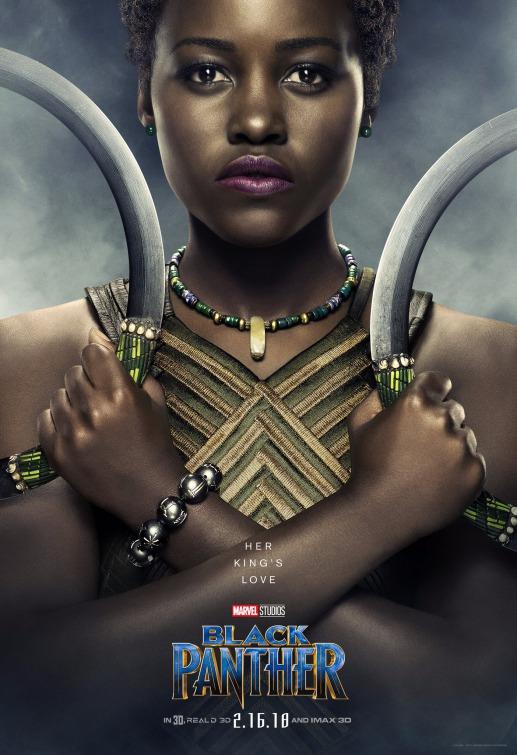 Black Panther Nakia poster