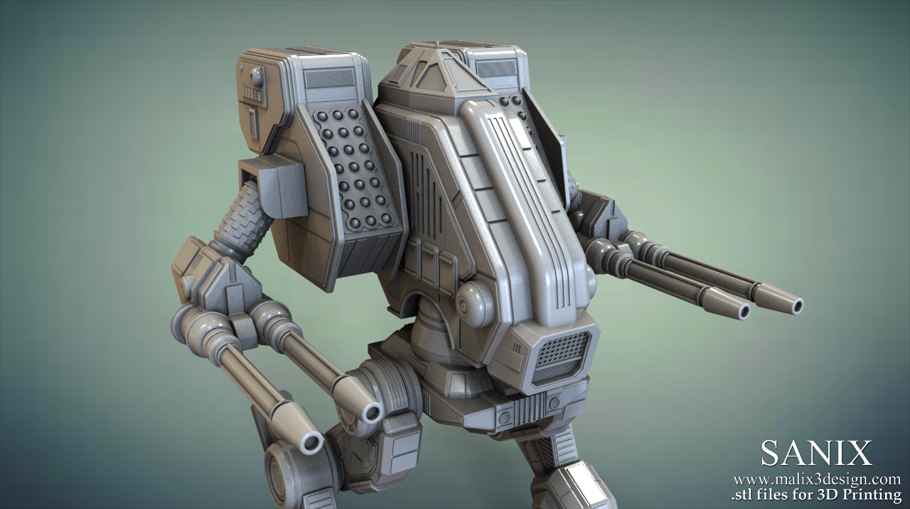 Fresh MAD DOG ( Vulture) Battletech Classic / 3D Printable Model - www  DL69