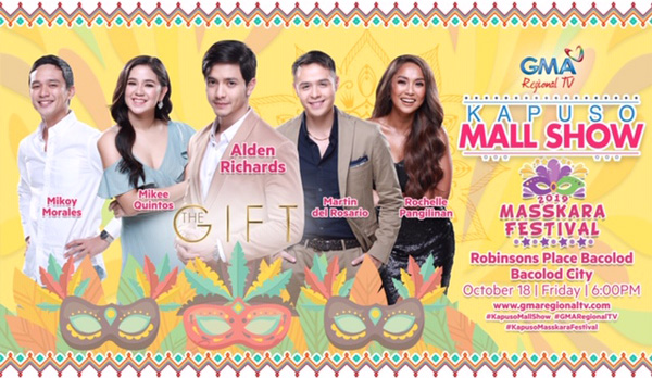 Alden Richards - Bacolod City - Masskara Festival - GMA - Kapusong Negrense- GMA Regional TV - Robinsons Place Bacolod - Kapuso mall show- Bacolod blogger - The Gift - GMA The Gift cast
