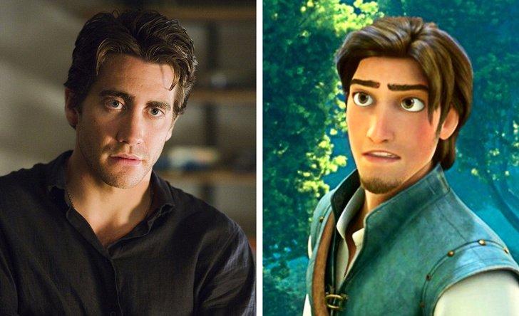 Jake Gyllenhaal como Flynn Rider, de Enrolados