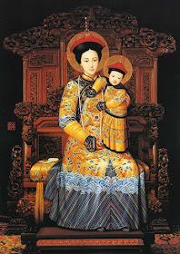 """Nossa Senhora """"Imperatriz da China"""" ou """"Rainha da China"""""""