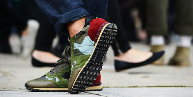 Wearing Trainers With Every Look