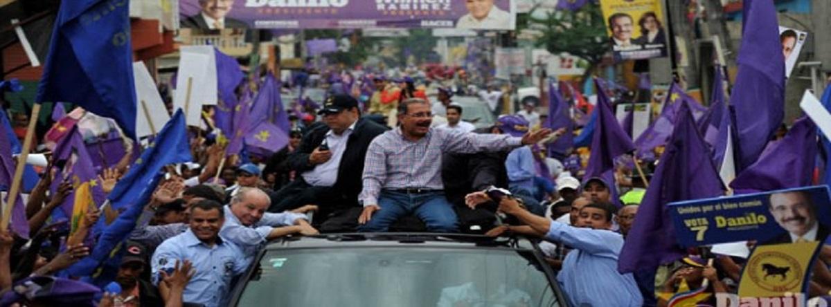 Gana el Presidente Danilo Medina