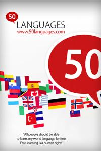 تحميل تطبيق لتعلم اللغات مجانا لهواتف الاندرويد Learn 50 languages 11.3.apk