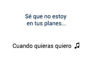 Felipe Peláez Cuando Quieras Quiero significado de la canción.
