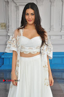 Telugu Actress Amyra Dastur Stills in White Skirt and Blouse at Anandi Indira Production LLP Production no 1 Opening  0128.JPG