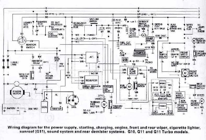 wiring diagram daihatsu feroza