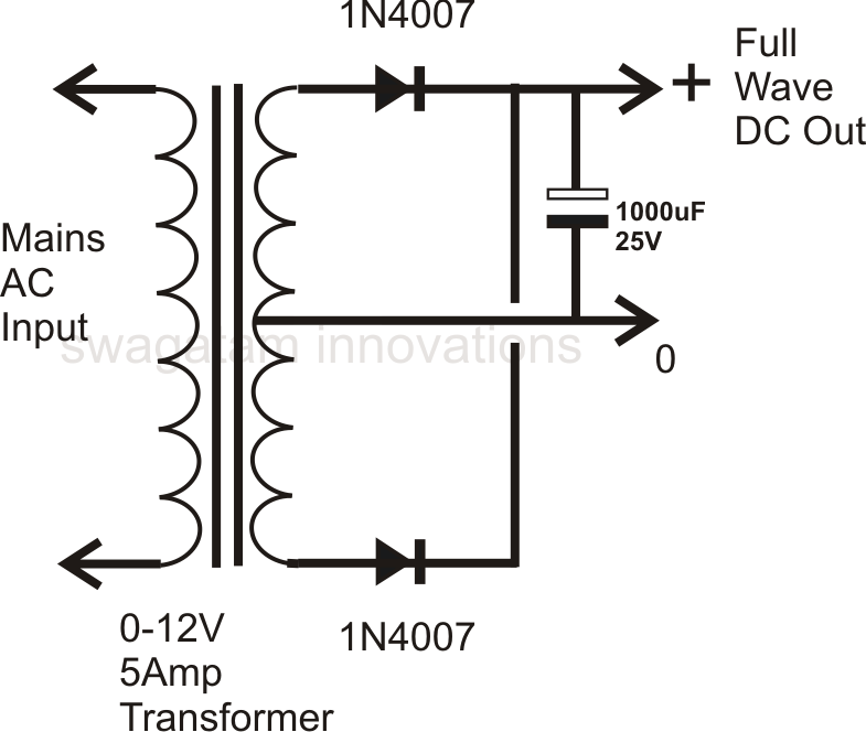 how to design a power supply circuit