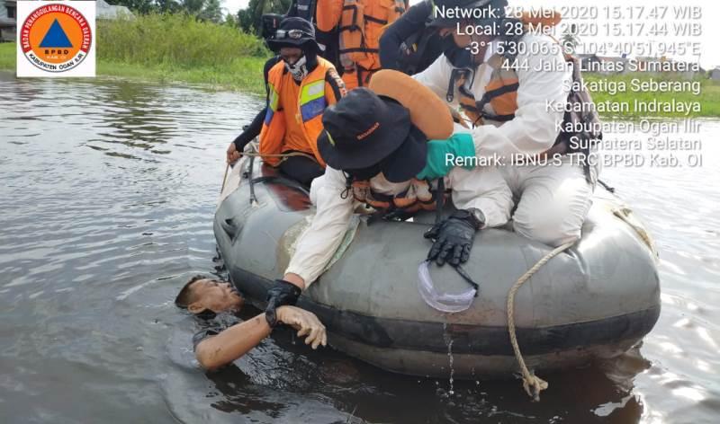 Jenazah Sopir SpeedBood yang Tabrak Tiang Jembatan Akhirnya Ditemukan
