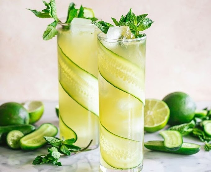Cucumber Mojito - The Most Refreshing Summer Drink