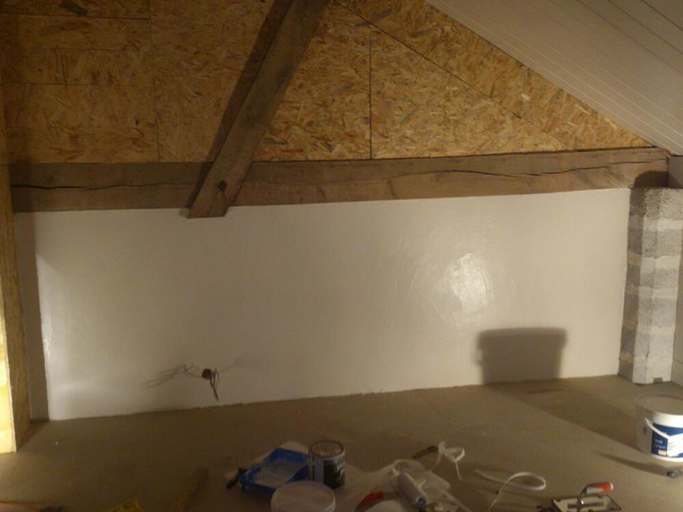 la grange de pelest essai cr pis mur int rieur. Black Bedroom Furniture Sets. Home Design Ideas