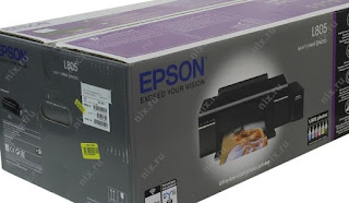 Cara Terbaru Reset Printer Epson L 805 service Required