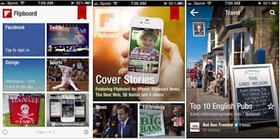 Flipboard Mobile B2B application
