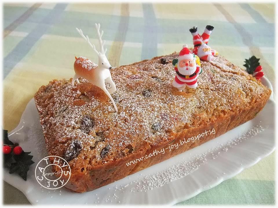 Light Fruit Cake Recipe Joy Of Baking: Cathy's Joy: Christmas Fruit Cake