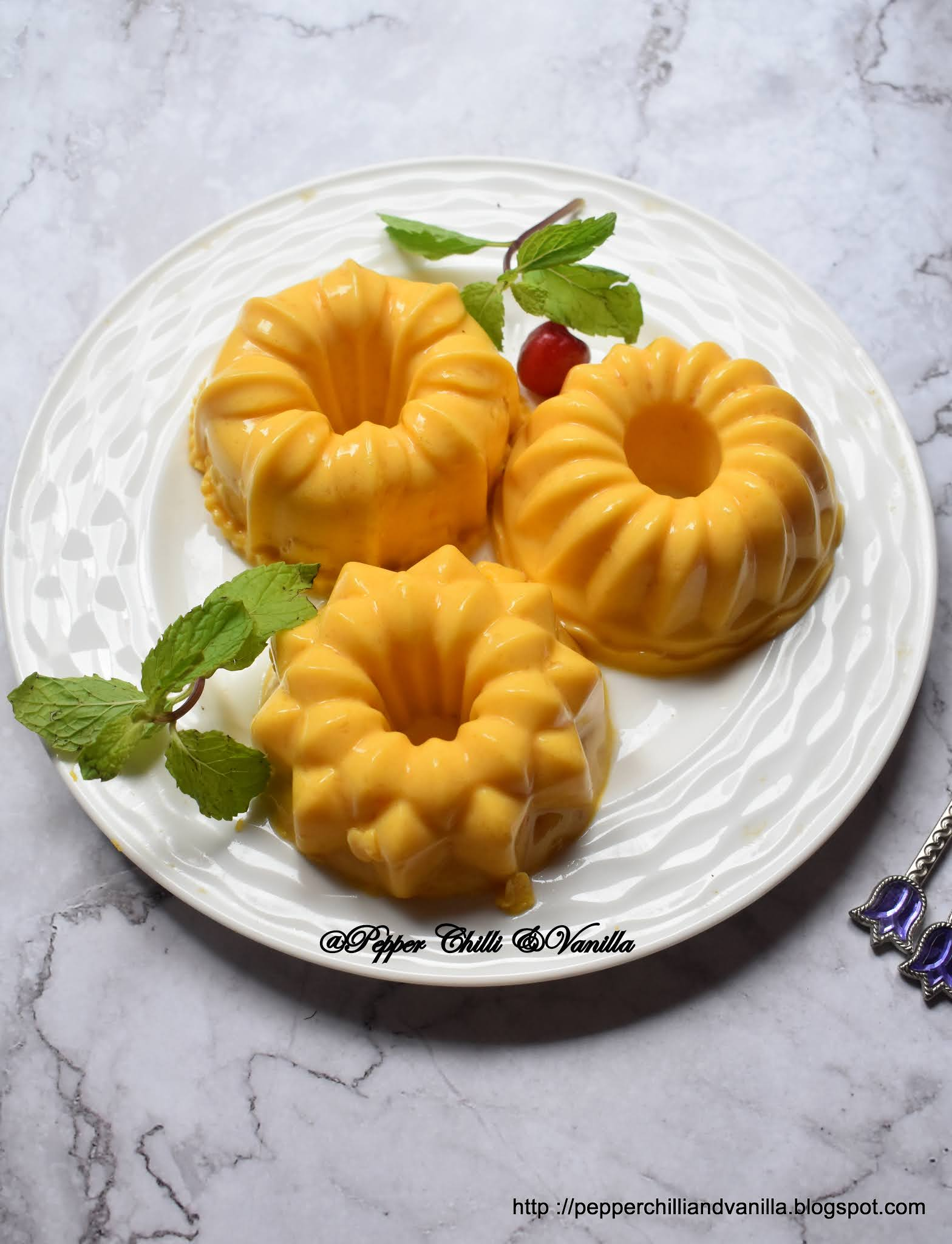 mango china grass,mango agar agar pudding
