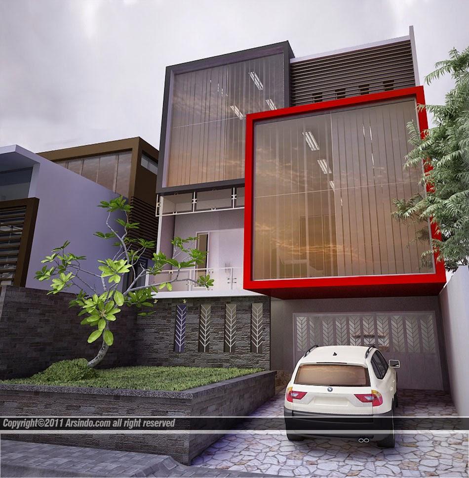 Bali Agung Property: Kumpulan Desain Fasad Rumah Minimalis
