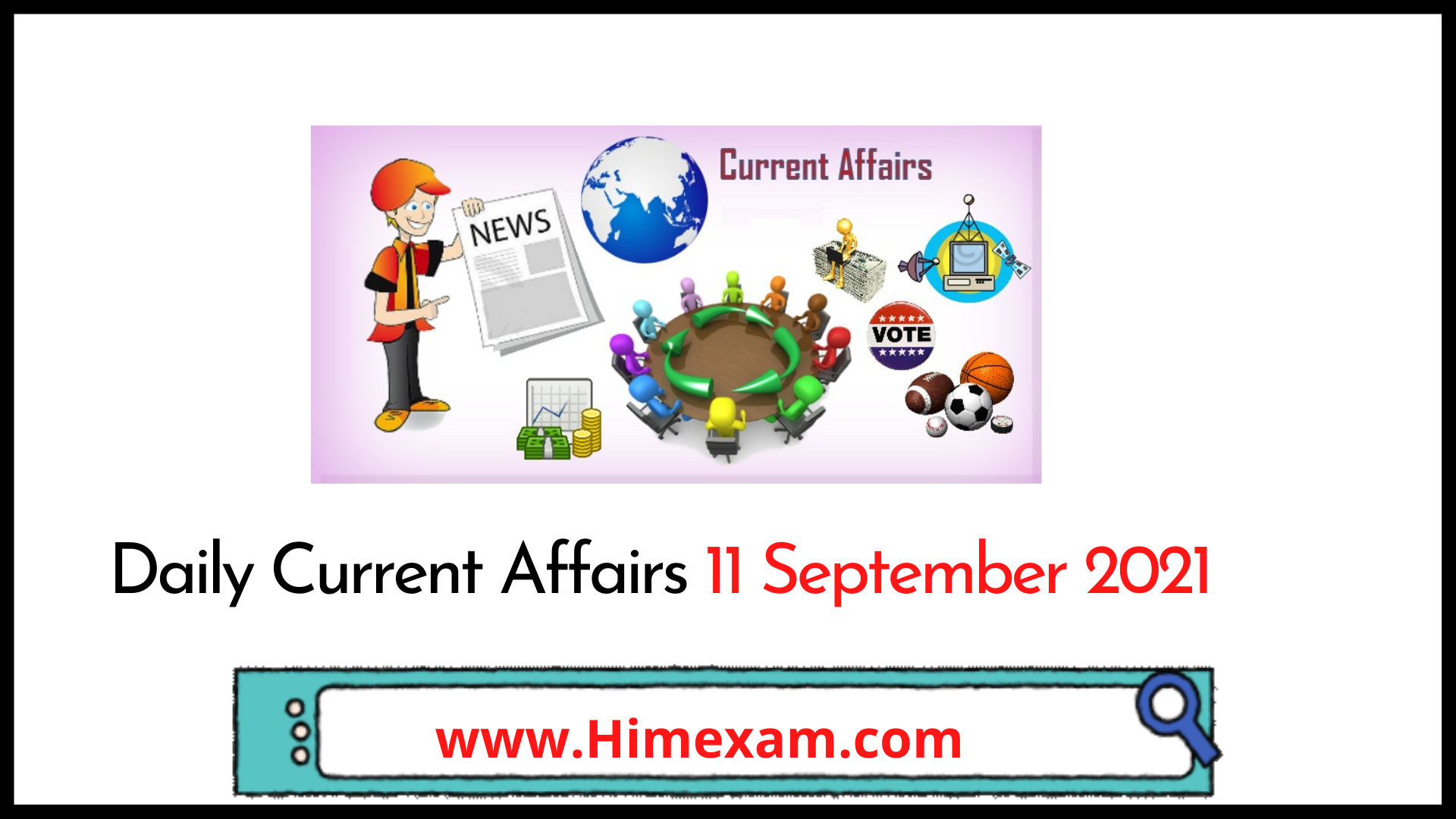 Daily Current Affairs 11 September 2021