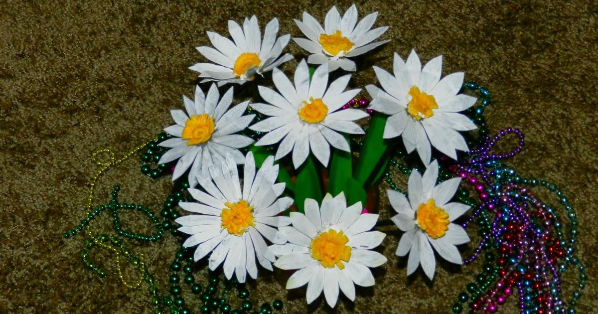 Creative Diy Crafts Recycled Diy Daisy Flowers With Waste Plastic Milk Jug