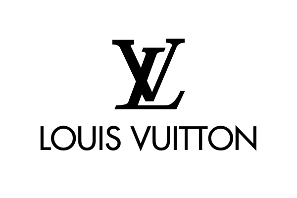Logo merk Louis Vuitton