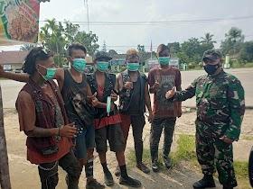 Anak Punk Bekerkeliaran di Sengeti, Pabung Sebut Akan lakukan pembinaan Bersama Dinas sosial