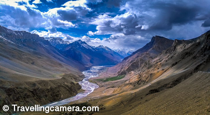 During our week long trip to Spiti Valley last year in summers, we hadn't done any advanced bookings but we had tentative stoppages in our heads. Most of the times we landed at the destinations late in the evening and then we used to search for a homestay.