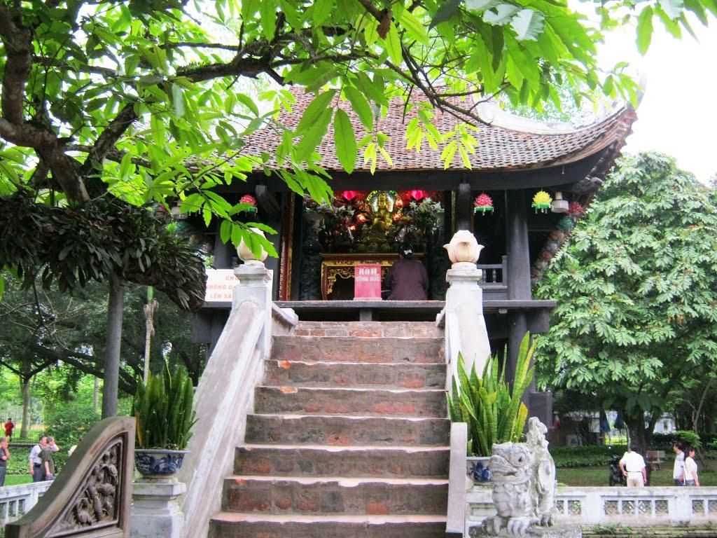 Chùa Chiền Việt : Chùa Một Cột - Kiến trúc văn hóa lâu đời