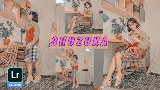 Preset Lightroom Shuzuka Terbaru DNG & XMP