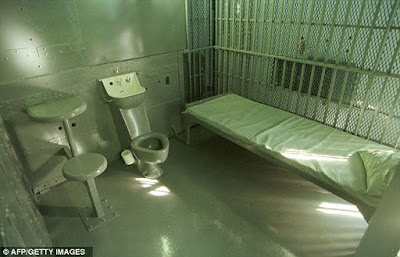 Arizona's death house holding cell