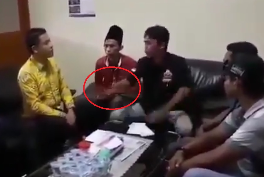 caleg hanura ancam universitas muhammadiyah gresik