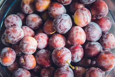 Free stock photos of food and high quality - Fresh Plum Fruits free image.